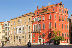 Magnificent examples of venetian architecture Royalty Free Stock Photo