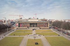 Magnificent Exterior of the Altes Museum stock images