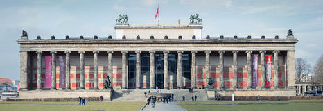 Magnificent Exterior of the Altes Museum royalty free stock photography