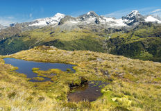 Magnificent fabulous scenery in New Zealand Royalty Free Stock Photo