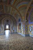 Beautiful fairy tale castle stock photography