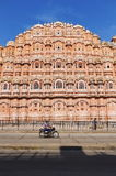 Wind Palace Of Jaipur. Magnificent fusion of Hindu Rajput architecture and Islamic Mughal architecture of famous Jaipur Wind Palace,Rajasthan.India royalty free stock photo