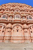 Hawa Mahal Of Jaipur. Magnificent fusion of Hindu Rajput architecture and Islamic Mughal architecture of famous Jaipur Wind Palace,Rajasthan.India stock photography