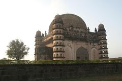 Magnificent Gol Gumbaz Stock Photography