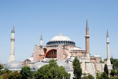 Magnificent Hagia Sophia Royalty Free Stock Images