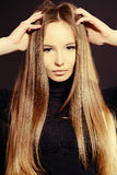 Magnificent hair Royalty Free Stock Photos