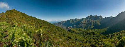 The magnificent inland of the island of Madeira Stock Image