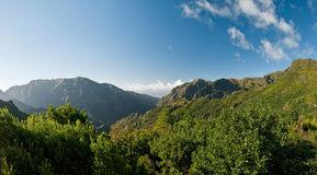 The magnificent inland of the Madeira Stock Photo