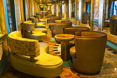 Magnificent interiors on cruise the ship Royalty Free Stock Images