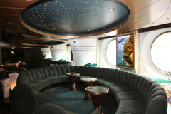 Magnificent interiors and rest on cruise the ship Stock Images