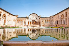 Magnificent Khan-e Tabatabei historic house Royalty Free Stock Photo