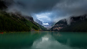 The magnificent Lake Louis Royalty Free Stock Images