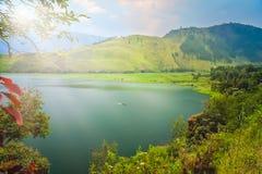 Magnificent Lake Toba in Sumatra stock image
