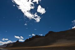 Magnificent landscape of Ladakh, India stock photography