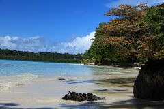 Magnificent landscapes of the ste-marie island in madagascar