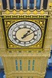 LEGO store, big ben, london, england royalty free stock photos