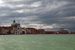 Magnificent light in Venice Royalty Free Stock Image