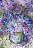 Magnificent lilac bouquet Stock Photo