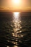 Magnificent marine sunset scene Stock Photography