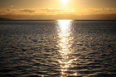Magnificent marine sunset scene Stock Image