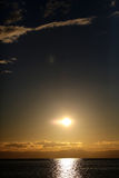 Magnificent marine sunset scene Royalty Free Stock Photo