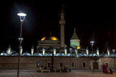 The magnificent Mevlana Museum in Konya in Turkey. stock photography