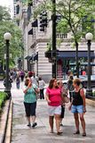 Magnificent Mile Royalty Free Stock Photos