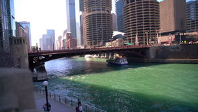 Magnificent Mile River stock footage