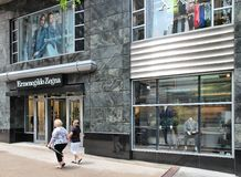 Magnificent Mile shopping Royalty Free Stock Photography