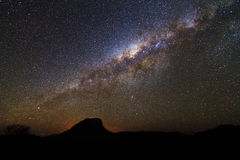Magnificent milky way Royalty Free Stock Images