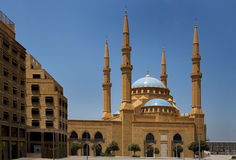 The Magnificent Mohammed el-Amine Mosque. In downtoun Beirut, Lebanon Royalty Free Stock Photo