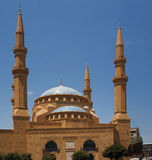 The Magnificent Mohammed el-Amine Mosque Royalty Free Stock Photos
