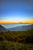 Magnificent Mountain in Indonesia Royalty Free Stock Image
