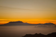 Magnificent Mountain in Indonesia Royalty Free Stock Photography