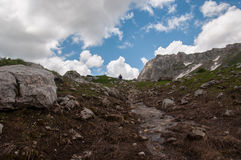 The magnificent mountain scenery of the Caucasus Nature Reserve Royalty Free Stock Images
