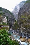 Magnificent mountain at Taroko National Park Royalty Free Stock Photos