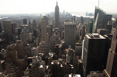 Magnificent New York skyline Royalty Free Stock Images