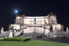 Magnificent night in Rome. Royalty Free Stock Photos