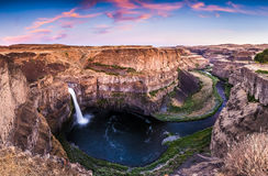 Magnificent Palouse Fall Stock Image