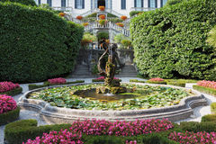 Magnificent park with fountains Stock Photography