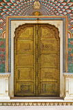 The Peacock Door Of City Palace. The magnificent peacock door at Jaipur City Palace,Rajasthan Royalty Free Stock Photo