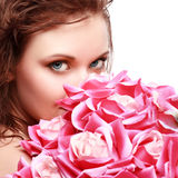 Magnificent portrait of a beautiful young woman Stock Photo