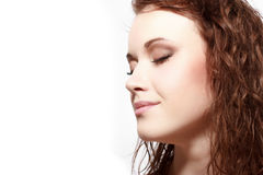 Magnificent portrait of a beautiful young woman Royalty Free Stock Image