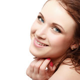 Magnificent portrait of a beautiful young woman Stock Photography