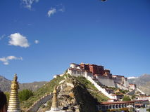The magnificent Potala palace Stock Images