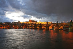 The magnificent Prague Castle Stock Photography