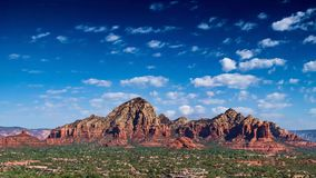 Magnificent Red Rocks stock video footage