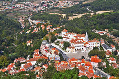 Magnificent resort of Sintra Stock Photos
