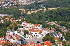 Magnificent resort of Sintra Stock Images
