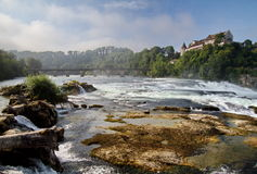 Magnificent Rhinefalls, Switzerland Stock Photo